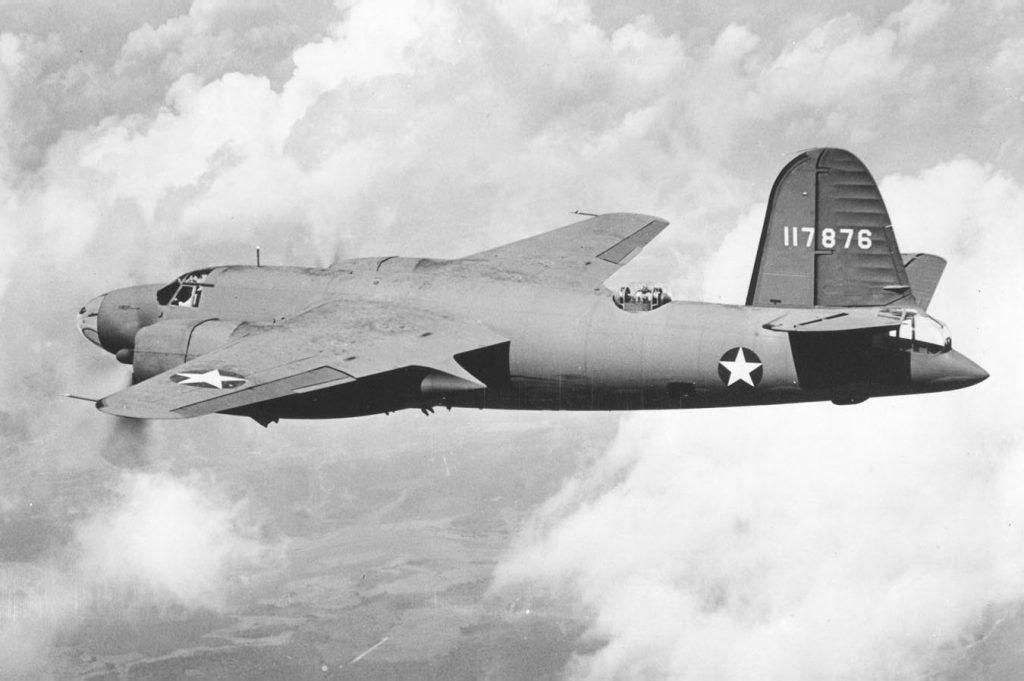 B-26B-2-MA Marauder s/n 41-17876 август 1942 года