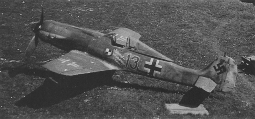 Focke-Wulf Fw.190 D-9 W.Nr 213240 JV44 Ainring май 1945 года