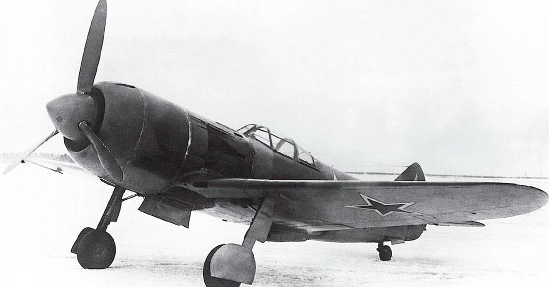 Истребитель Ла-7 Эталон 1944 года на испытаниях в НИИ ВВС