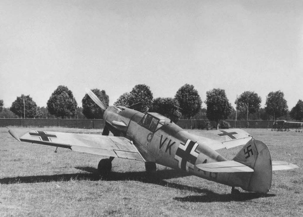 Messerschmitt Bf.109 V24 VK+AB прототип Bf.109F