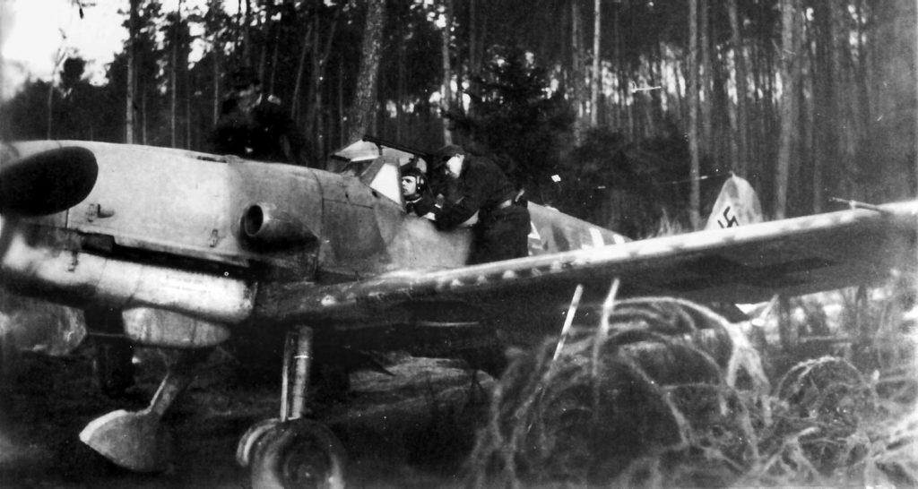 Messerschmitt Bf.109 K-4 Lt. Landt 11./JG53