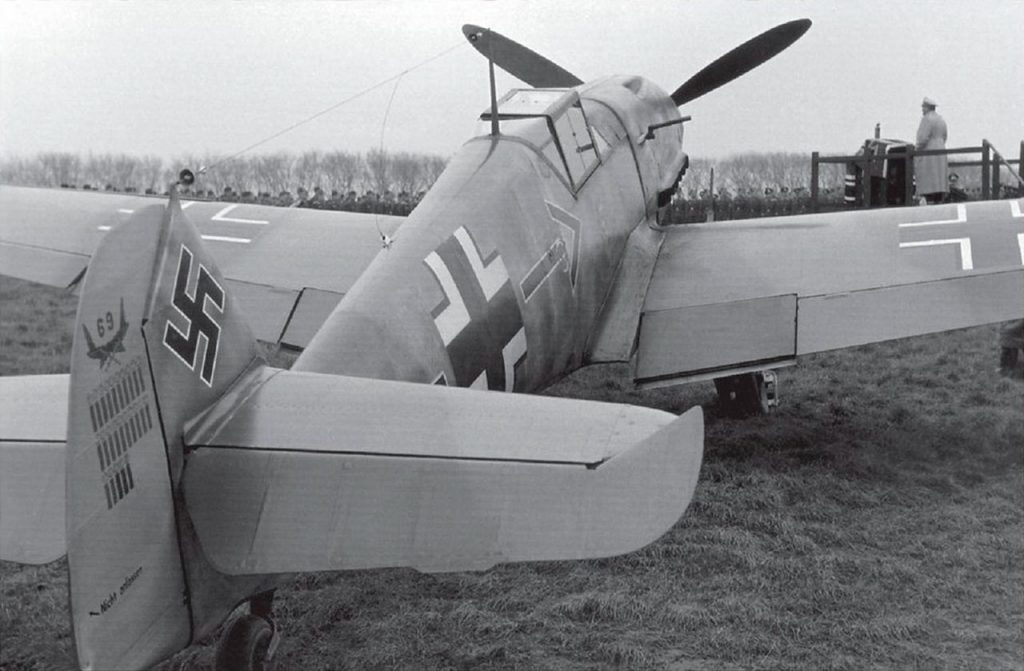 Messerschmitt Bf.109 F-2 3xMG-FF 2xMG 17, Adolf Galland декабрь 1941 года