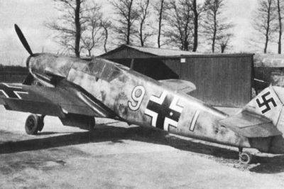 Messerschmitt Bf.109 F-2 Siegfried Schnell 9./JG2