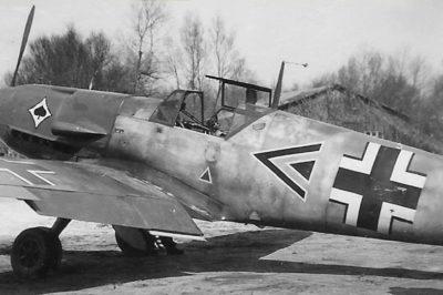 Messerschmitt Bf.109 F-2 Wolf-Dietrich Wilcke III/JG53