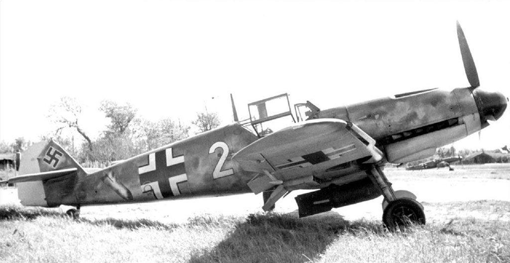 Messerschmitt Bf.109 F-4/B 10.(Jabo)/JG26