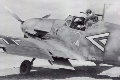 Messerschmitt Bf.109 F-4 Reinhard Seiler III/JG54 май 1942