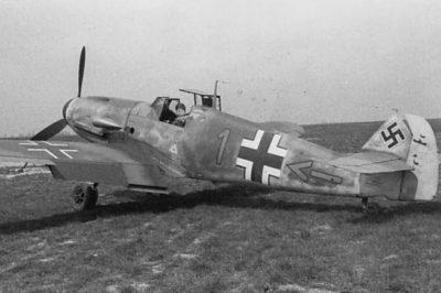 Messerschmitt Bf.109 F-4/B Frank Liesendahl 10.(Jabo)/JG2