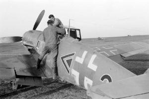 Messerschmitt Bf.109 G-2 Hubertus von Bonin III/JG52