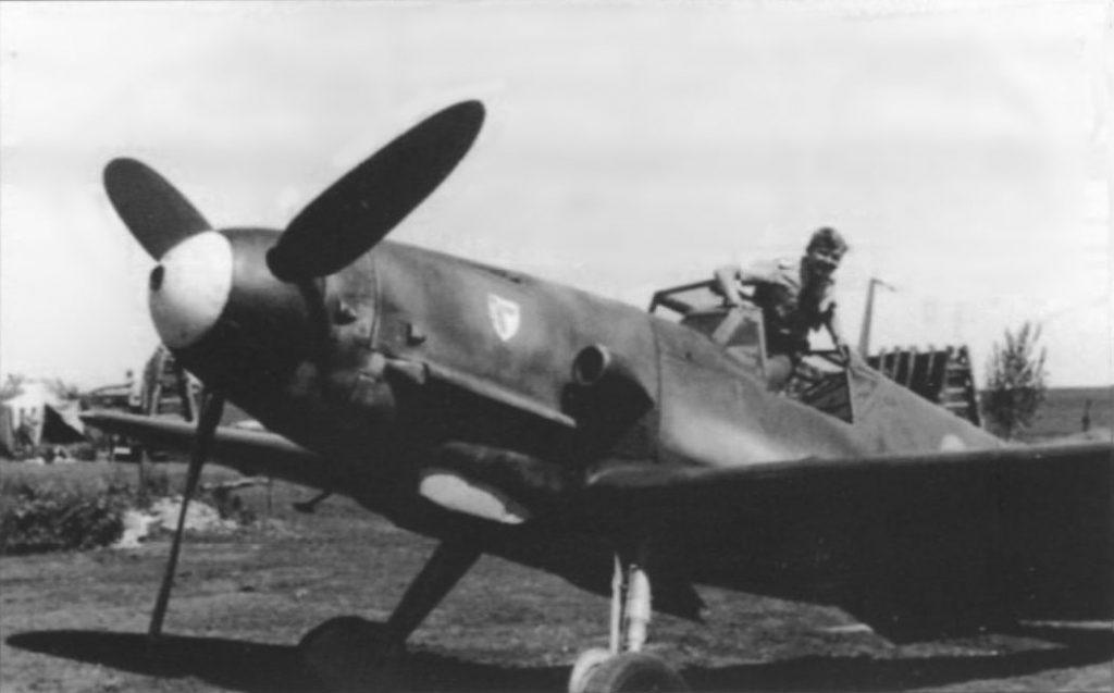 Messerschmitt Bf.109 G-4 6./JG3 Восточный фронт 1943 год