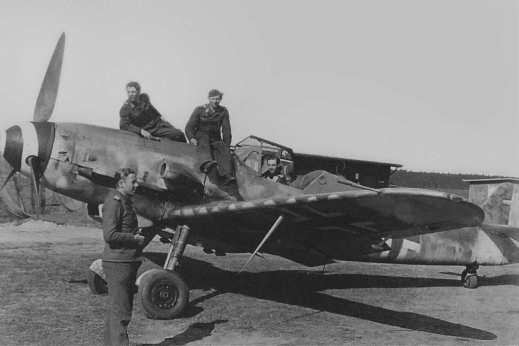 Messerschmitt Bf.109G-10 II/JG3 Garz февраль 1945 года