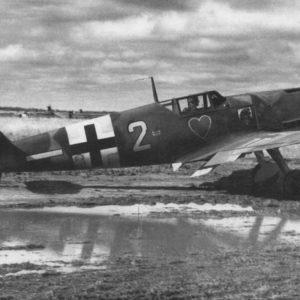Messerschmitt Bf.109G-2 II/JG54 1942 год