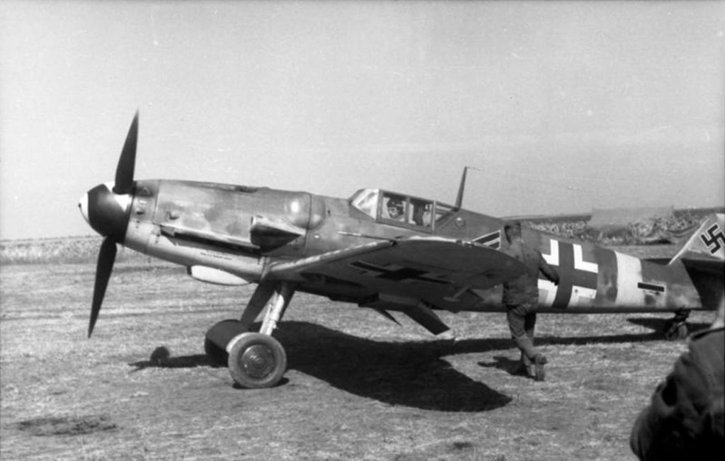 Messerschmitt Bf.109G-6 Stab II/JG52 Gerhard Barkhorn Анапа осень 1943 года