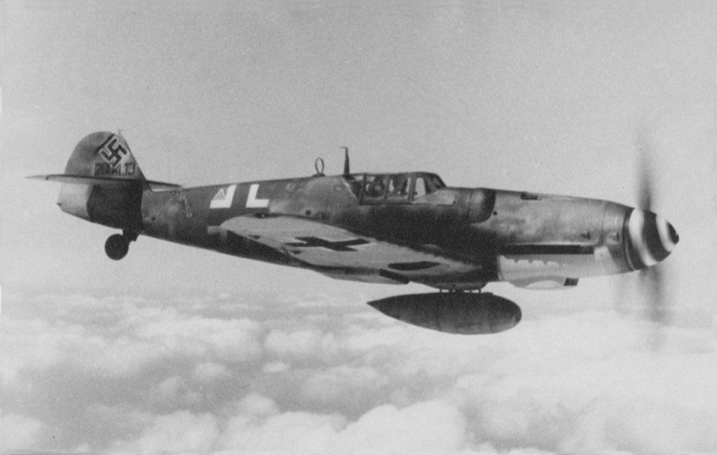 Messerschmitt Bf.109G-8 W.Nr 200413 1944 год