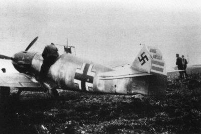 Messerschmitt Bf.109 F-1 W.Nr 5628 SG+GW Werner Mölders JG51