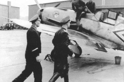 Messerschmitt Bf.109 F-1 W.Nr 5628 Werner Mölders 1941 год