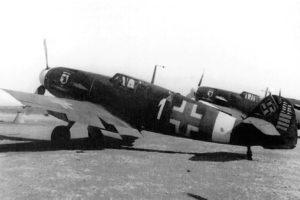 Messerschmitt Bf.109 G-2 W.Nr 13633 Hptm. Wolf-Dietrich Huy 7./JG77 октябрь 1942 года