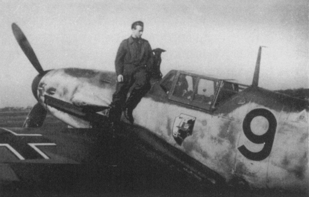Messerschmitt Bf.109G-1 Fw. Führmann 5./JG11 лето 1943 года