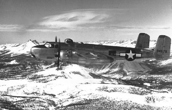 North American B-25H-5-NA Mitchell s/n 43-4570