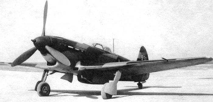 Истребитель Як-9Т