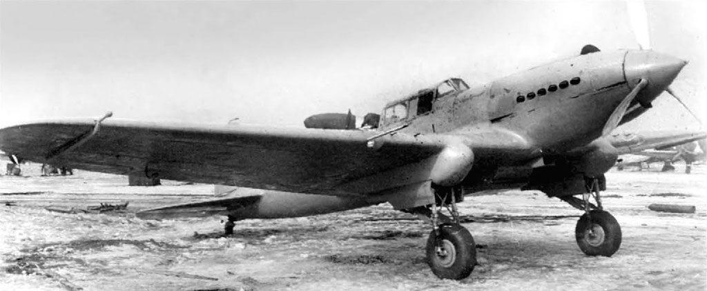 Штурмовик БШ-2 №2 (ЦКБ-55) апрель 1940 года