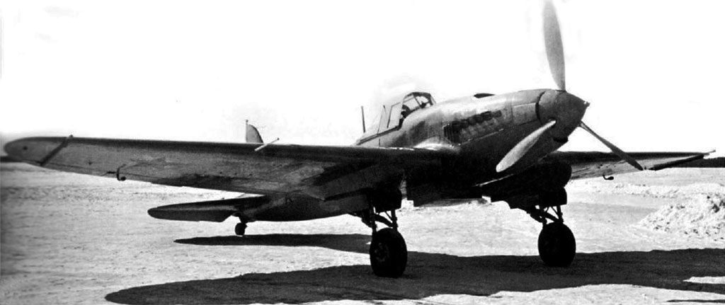Штурмовик Ил-2 АМ-38 (ЦКБ-55П, БШ-2 №2) Государственные испытания в НИИ ВВС, март 1941 г.