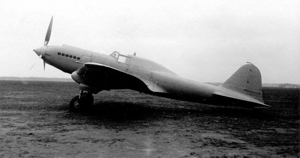 Штурмовик БШ-2 одноместный ЦКБ-57 с двигателем АМ-38
