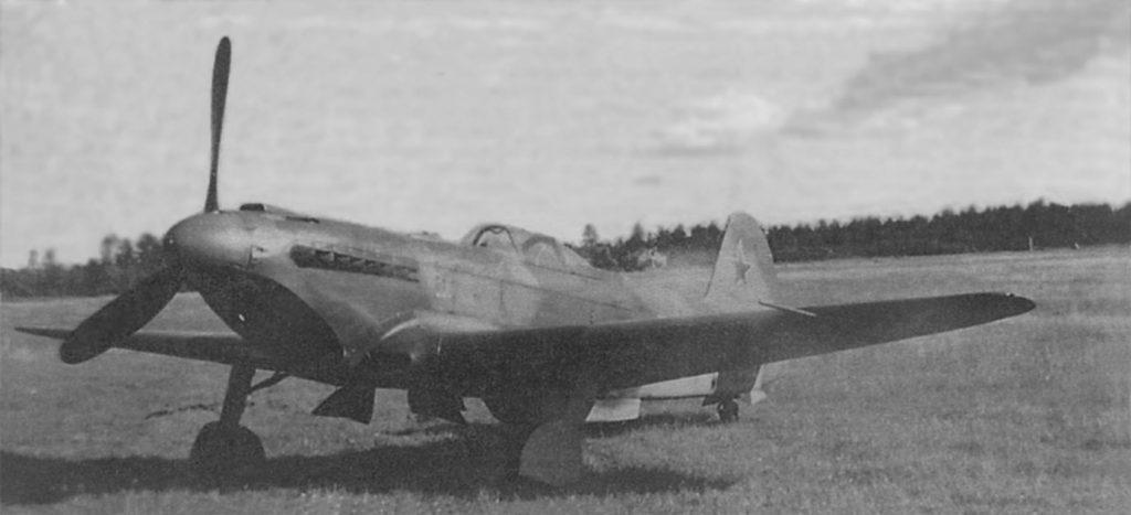 Як-9У ВК-107А 42ГИАП Степыгино лето 1944 года