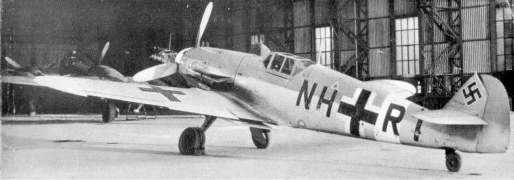 Messerschmitt Bf.109 G-4/Trop NH+RT Guidonia Италия 1943 год