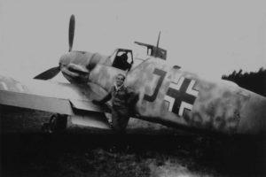 Messerschmitt Bf.109 G-5 Feldwebel Otfried Baischs 1944 год