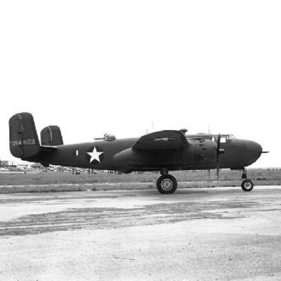 North American B-25G-5-NA Mitchell s/n 42-64803