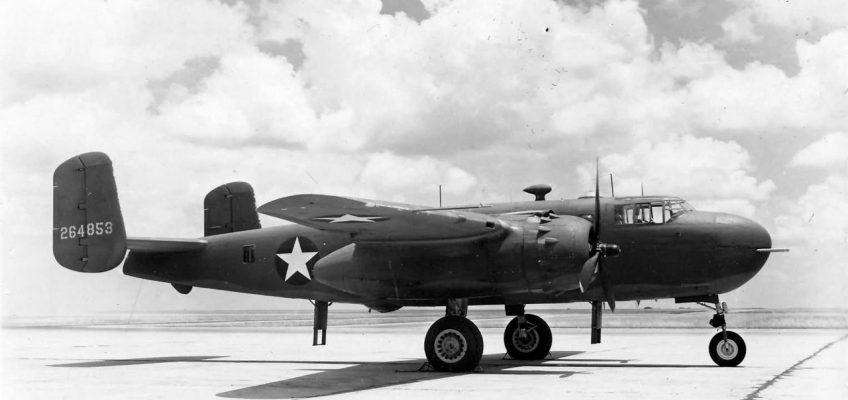 North American B-25G Mitchell