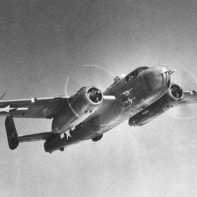 North American B-25H-1-NA Mitchell s/n 43-4110