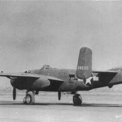 North American B-25H-1-NA Mitchell s/n 43-4220