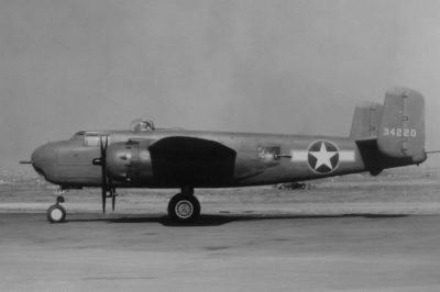 North American B-25H-1-NA Mitchell s/n 43-4220
