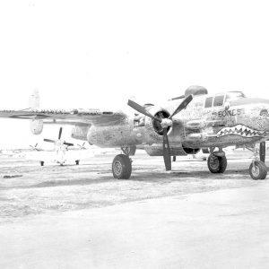 """North American B-25H-10-NA s/n 43-5104 """"Bones"""""""