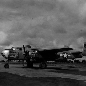 """North American B-25H-10-NA Mitchell s/n 43-4978 434BS 12BG """"Earthquakers"""""""