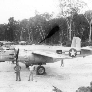 "North American B-25H-5-NA Mitchell ""Dutch"" s/n 43-4498 Тихий Океан 1944 год"