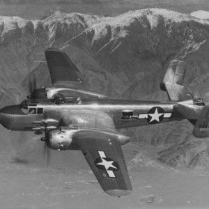 North American B-25H-5-NA Mitchell s/n 43-4570