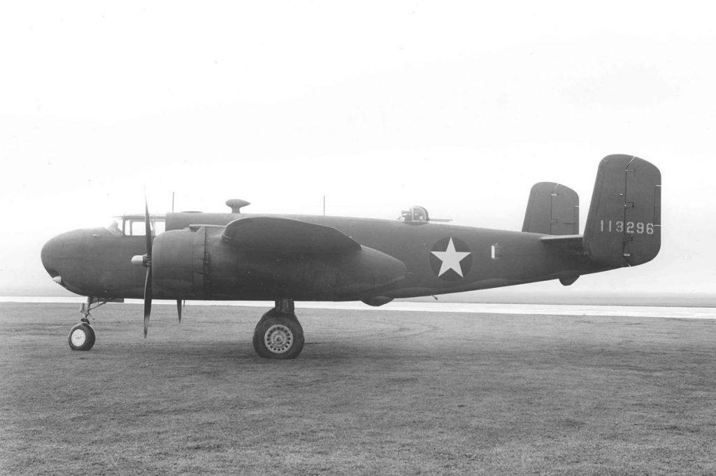 Прототип XB-25G
