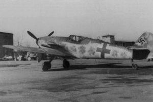 Messerschmitt Bf.109 K-4 W.Nr 330130 Германия 1945 год