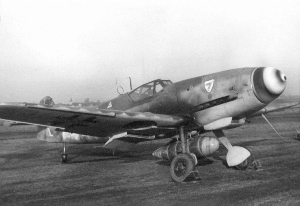 Messerschmitt Bf.109G-10 W.Nr 490617 Uffz. Gerhard Reiher 8./JG3 Alperstedt Германия