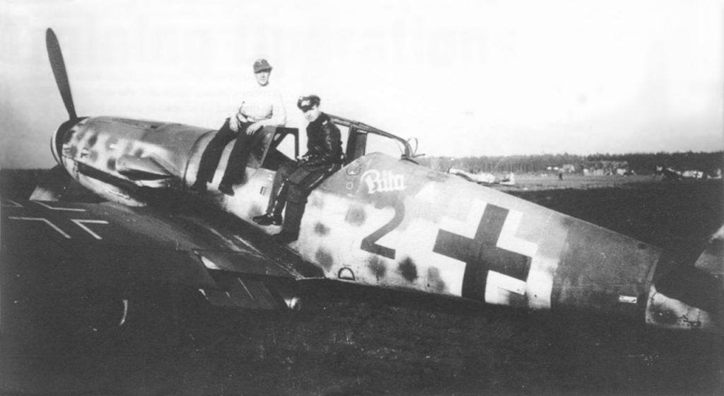 Messerschmitt Bf.109G-14/AS Eberhard Gzik 2./JG300 осень 1944 года