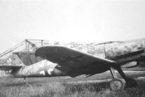 Messerschmitt Bf.109G-14/AS W.Nr 786316 Kassel июнь 1945 года