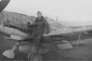 Messerschmitt Bf.109G-14 W.Nr 512??? 7./JG52 Veszprém Венгрия декабрь 1944 года