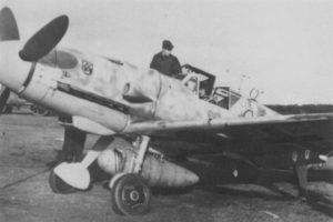 Messerschmitt Bf.109G-5 W.Nr 27119 Fw. Hecker 9./JG54 Ludwigslust февраль 1944 года