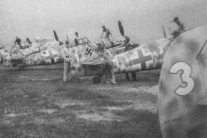 Messerschmitt Bf.109G-5 из JGr50 октябрь 1943 года