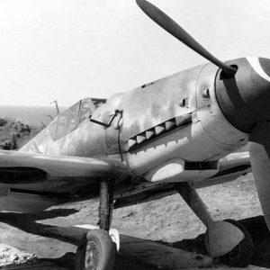 Messerschmitt Bf.109 G-6 капот тип 040 Erla