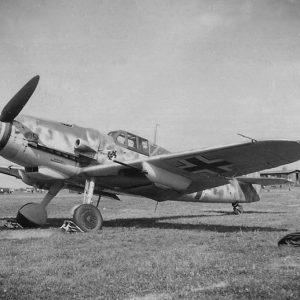 Messerschmitt Bf.109G-6 R6 W.Nr 15458 Lt. Joachim Göhre 8./JG1 Leeuwarden Голландия лето 1943 года