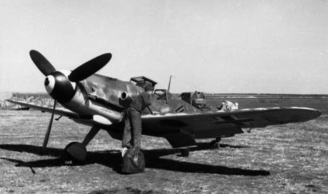 Messerschmitt-Bf-109G-6-WNr-15909-Stab-I