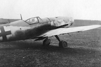 Messerschmitt Bf.109K в конце 1944 года